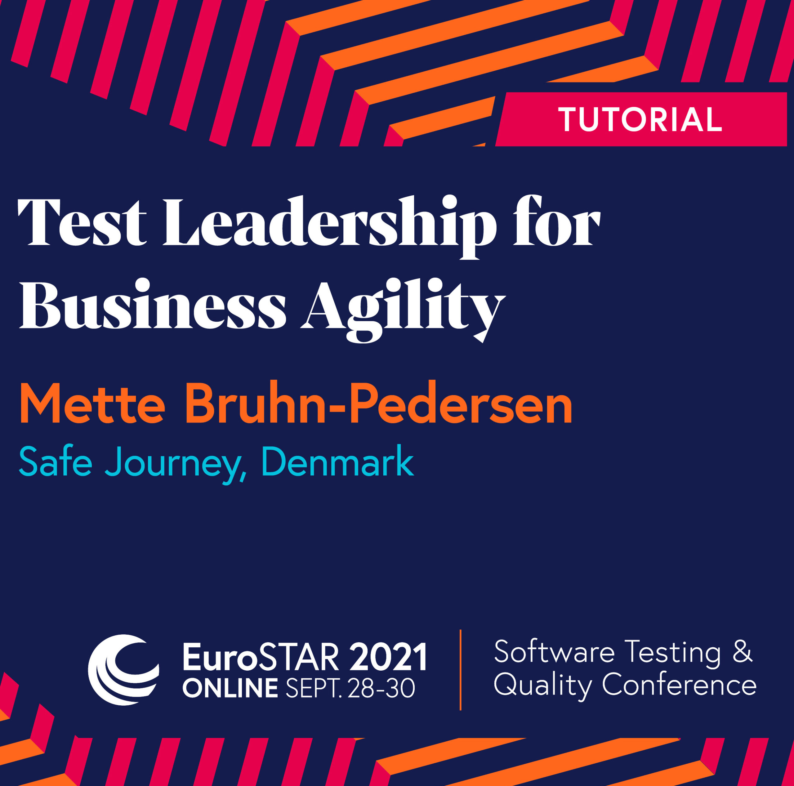 Tutorial about Test Leadership for Business Agility